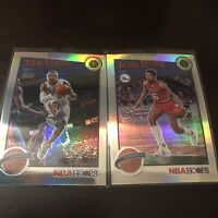 Panini NBA Hoops Premium Allen Iverson And Erving Holo Base Insert