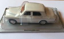 """DIE CAST """" WARSZAWA 203  """" AUTO DELL' EST SCALA 1/43"""