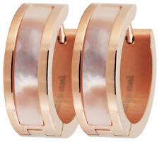 Pendientes de bisutería aros de color principal oro acero inoxidable
