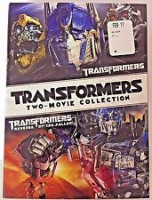 Transformers & Revenge of the Fallen 2 movies Brand NEW & SEALED DVD + FREE Ship