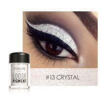 Focallure Glitter Eyeshadow Powder Waterproof Loose Shimmer 3D Golden Crystal#13
