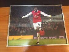 Soccer star Emmanuel Adebayor signed photo /certicicate of authenticity