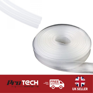 HEAT SHRINK ELECTRICAL SLEEVING CABLE TUBING WRAP - CLEAR - CHOOSE SIZE & LENGTH