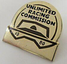 1980 U.R.C. Unlimited Racing Comm. SEASON PASS tack pin pinback Hydroplane b1