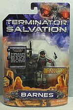 "Terminator Salvation ""Barnes"" 3 3/4 Action Figure w/Topps Movie Card MIP"