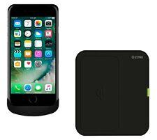 Caricabatterie e dock neri Per iPhone 6 con wireless per cellulari e palmari