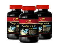 flaxseed oil softgels - OMEGA 3-6-9 3600MG - improves heart health 3B