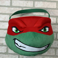 Teenage Mutant Ninja Turtles Raphael Plush Halloween Candy Bag Bucket TMNT