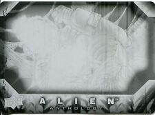 Upper Deck Alien Anthology Base Card Printing Plate #9 (Black)