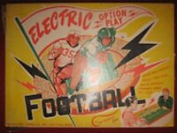 1950s Jim Prentice ELECTRIC OPTION PLAY FOOTBALL Board Game Vintage super bowl