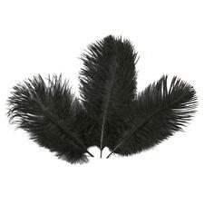 10pcs natural ostrich feathers DIY decoration dress hair handmade accessory