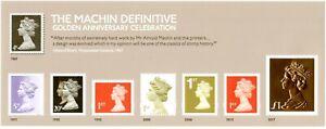 2017 GB 50th Anniv of Machin Definitives Mini Sheet MS3965 NON Barcoded Version
