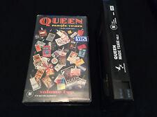 QUEEN MAGIC YEARS VOLUME TWO AUSTRALIAN VHS VIDEO