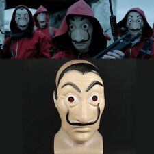Neu La Casa De Papel Face Mask Salvador Dali Mascara Money Heist Cosplay Props