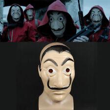 Neu La Casa De Papel Face Mask Salvador Dali Mascara Money Heist Cosplay Props