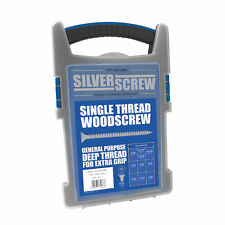 Silverscrew Woodscrews Grab Pack Double Countersunk 1000 Pcs
