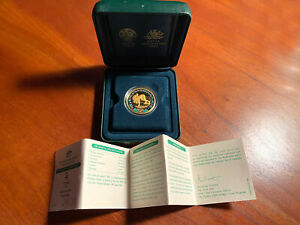 Sydney Australia 2000 Olympics .999 Gold 100 Dollar Proof Coin