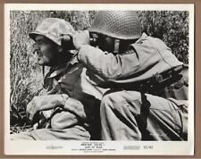 "Robert Ryan and Aldo Ray in ""Men in War"" Vintage Movie Still"