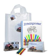 I'm The Big Brother Gift Bag-Monster Truck-Single use Camera/kid/child (Pkg-502)