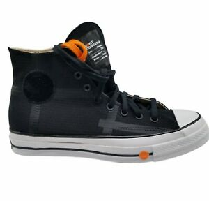 Converse Unisex Chuck 70 Hi 168211C Black White Sneaker Athletic Size M10 W12