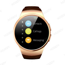 KW18 Bluetooth Smart Watch Orologio Intellige SIM GSM Per iOS Android iPhone Oro