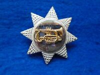 WWI, WWII, AUSTRALIAN/BRITISH ARMY? BANDSMAN MUSICIANS, TRUMPETERS CAP BADGE