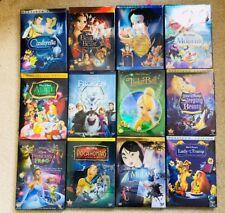 Disney Princess Movie Bundle 12 Disney DVD's Mulan Frozen Beauty Alice + More!