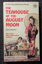 1956 TEAHOUSE OF THE AUGUST MOON by Vern Sneider VG- 3.5 1st Signet Paperback