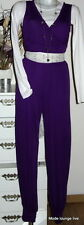 NOA mono traje chaqueta y pantalón JOSLIN Jersey S 36 Púrpura Tulipán Viscosa