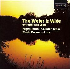 NEW Water Is Wide & Other Lute Songs (Audio CD)