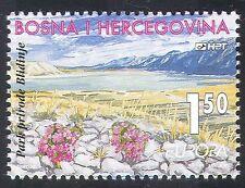 Bosnie Herzégovine 1999 Europa/Parcs nationaux/FLEURS/lac/montagne 1 V (n33878)