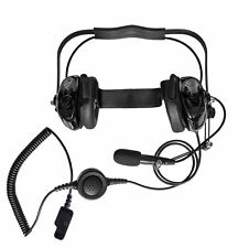 New Heavy Duty Headset Noise Reduction for Yaesu VH-110 VH-115M Two Way Radio