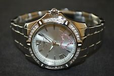 Invicta Angel Silver Stainless Steel Diamond Accent Ladies Watch 21416