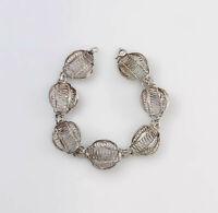 99825470 Armband Silber Filigran-Arbeit antik L23cm