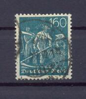 DR 190 Freimarke 160 Pfg. Wz. Waffeln gestempelt geprüft (ts287)