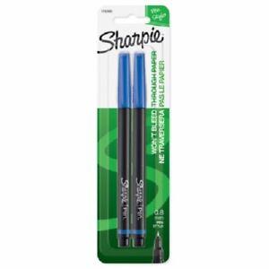 Sanford Sharpie 2 Pack Blue Fine Point Pen