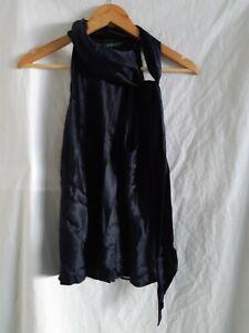 Lauren for Ralph Lauren blue off shoulder blouse size 12 Petite