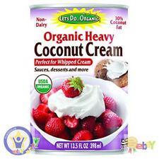 New listing Let's Do.Organic Heavy Coconut Cream, 13.5 Ounce Can