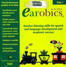 Earobics Pro Plus Step 1 Pc Cd professional child speech & language development!