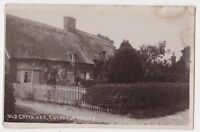 Old Cottages Cuckholt Green Essex RP Postcard, B698