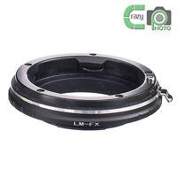 LM-FX Lens Adapter Leica M to Fuji X-mount Adapter XF XC Fujifilm E2 M1 A1 Pro1