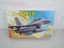 ESCI Ertl F16-Viper Model Airplane Kit - 1/72 Scale -New & Sealed