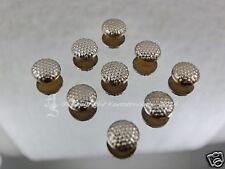 40 Hotfix  Bügelnieten Nieten Grob Silber 6 mm Karostonebox