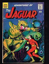 Adventures of the Jaguar #2 ~ 1961 (4.5) WH