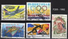 Lot Timbres France obl - 1992 - FF205