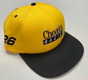 1990's NASCAR Johnny Benson Cheerios #26 Racing Team Snapback Hat Never Worn Cap