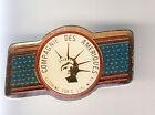 RARE PINS PIN'S .. TOURISME USA STATUE LIBERTE LIBERTY NEW YORK N.Y C.A SPORT~CK