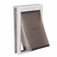 PetSafe Extreme Weather Pet Door Medium White For Dogs and Cats Up to 40 lb