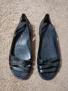 CROCS Iconic Comfort Slip ON Sandals Shoes Size W 10