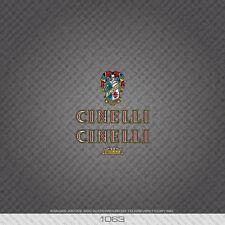 01063 Cinelli Bicicletta Adesivi-Decalcomanie-Transfers